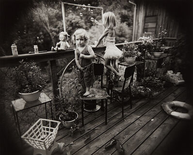 Sally Mann, 'Blowing Bubbles', 1987