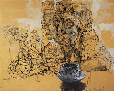 Khairudin Zainudin, 'Observer in Tiny Coffee Shop', 2015