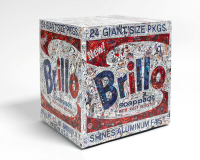 Vik Muniz, 'Brillo Box, after Warhol (Pictures of Magazines 2)', 2015
