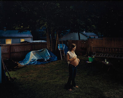 Gregory Crewdson, 'Untitled (pregnant woman)', 2001