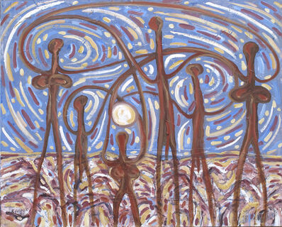 Robert Fisher, 'Moon Dance Coober Pedy'