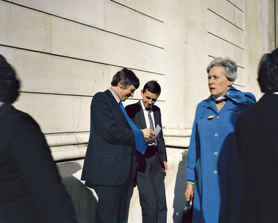 Paul Graham, 'Young Executives, Bank of England, November 1981, from the series A1 - The Great North Road', 1981