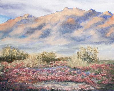 Marcia Geiger, 'Verbena & Coxcomb Mountains', 2019