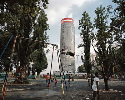 Mikhael Subotzky, 'Ponte City from Donald Mackay Park', 2011
