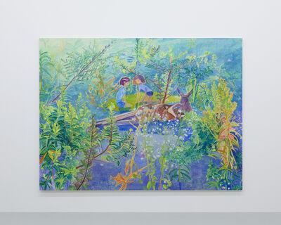 Makiko Kudo, 'She longs for fish at the bottom of the river', 2017