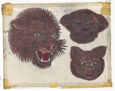 Rosie Camanga, 'Untitled (Lion Dog Head)', ca. 1950