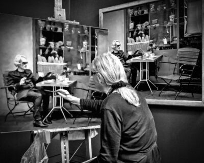 Andy Marx, 'Paris Painter 1'