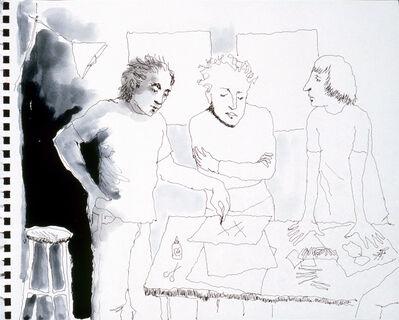 Mindy Alper, 'Untitled (3 xs)', 2007