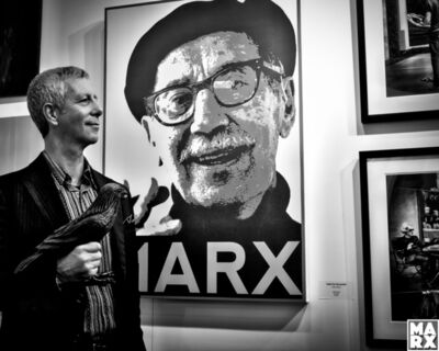 Andy Marx, 'Paul and Groucho'