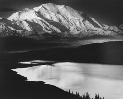 Ansel Adams, 'Mount McKinley and Wonder Lake, Mount McKinley National Park, Alaska, 1947', 1947