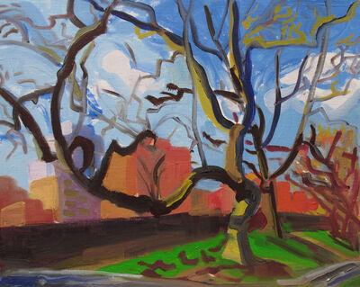Dena Schutzer, 'Trees off Westside Highway', 2017