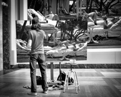 Andy Marx, 'Paris Painter 2'