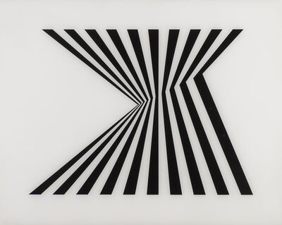 Bridget Riley, 'Untitled (Fragment 1) (Schubert 5a)', 1965
