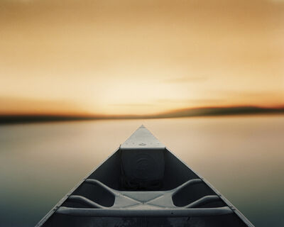 Caleb Charland, 'Paddling Toward a Single Point After Sunset', 2014