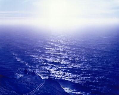 David Benjamin Sherry, 'Above Abyss, Blue Below, Point Reyes, California', 2015