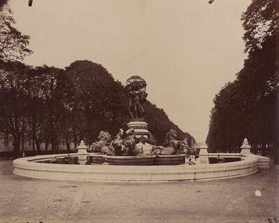 Eugène Atget, 'Fontaine des Quatre-Parties-du-Monde, Jardin Marco Polo, Paris', 1907/1907c