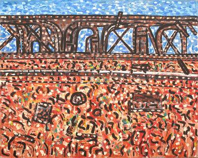 Robert Fisher, 'Outback Bridge Old Ghan Track'