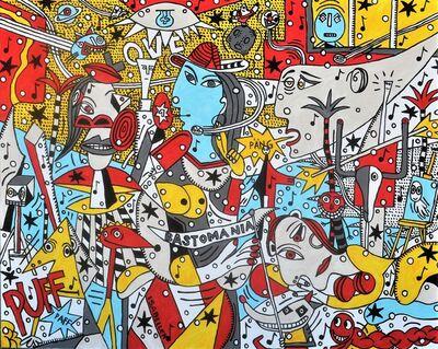 M.S. BASTIAN & ISABELLE L., 'Pulpomania Picasso', 2018