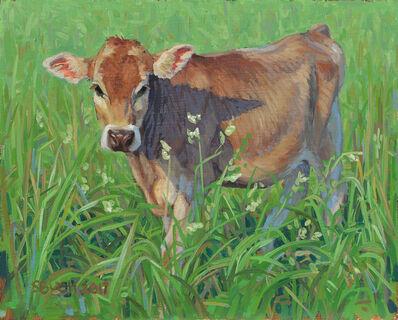 Stephanie Bush, 'Cow Study 27', 2017