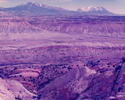 David Benjamin Sherry, 'Violent Deep Data Days Turned to Violet Dust, Escalante, Utah', 2015