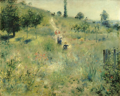 Pierre-Auguste Renoir, 'Path Leading Through Tall Grass', 1876