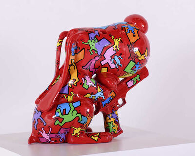 F&G, 'Pitchou cute 90 Keith(Tribute to Keith Haring)-2'