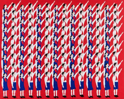 Mina Cheon, 'Happy North Korean Children 1', 2015