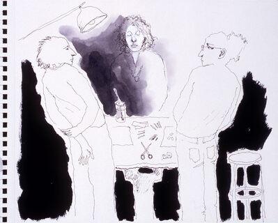 Mindy Alper, 'Untitled (drawing table)', 2007