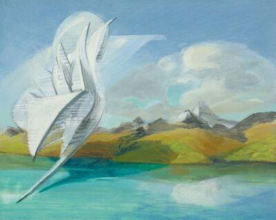 Mike Glier, 'January 16th, 2012: Wind, Lake Wakatipu, NZ, 66° F'