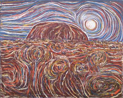 Robert Fisher, 'Moon Glow Uluru'