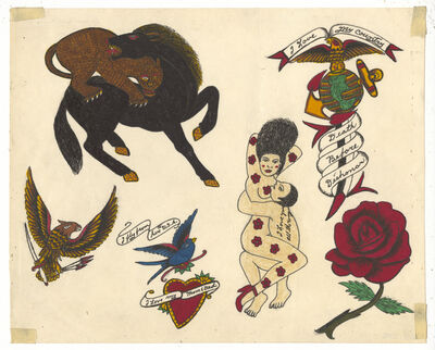 Rosie Camanga, 'Untitled (Love You All The Way)', ca. 1950