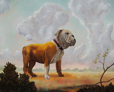 Tim Vermeulen, 'Landscape with Bull Dog'