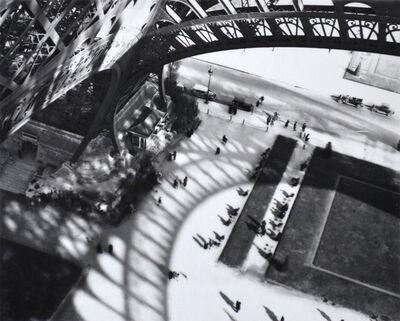 André Kertész, 'Eiffel Tower', 1929-printed 1982