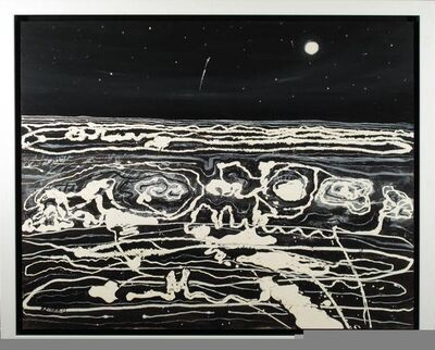 Robert Fisher, 'Black and White Moonscape II'