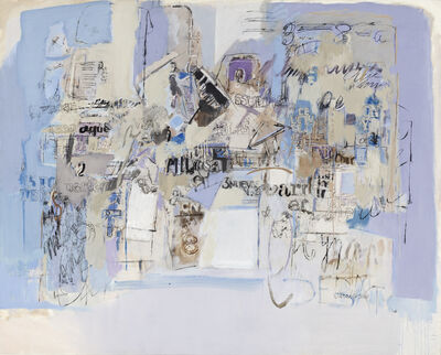 Sarah Grilo, 'Azul', 1984