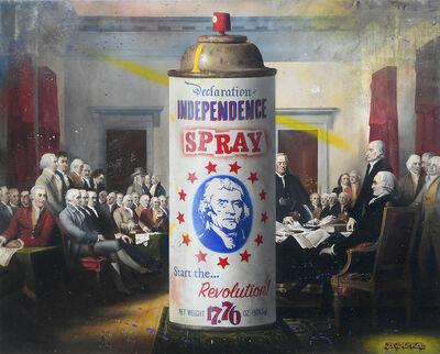 Ben Steele, 'Independence Spray', 2019