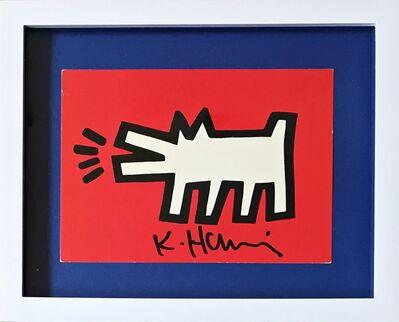 Keith Haring, 'Barking Dog (from the Estate of UACC President Cordelia Platt)', ca. 1990