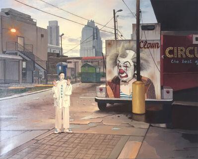 Juan Luis Jardi, 'Clown in Austin', 2017