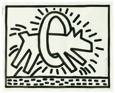 Keith Haring, 'Untitled ', 1986