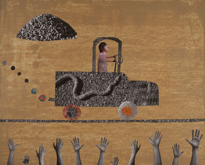 Holly Roberts, 'Snake Truck', 2015