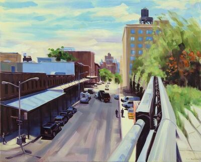 Ellen Bradshaw, 'Little West 12th & Washington Street I', 2013