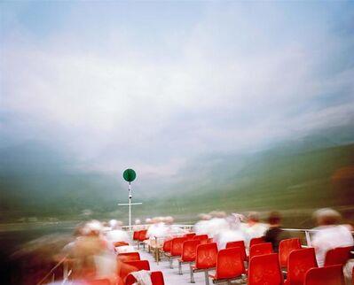 Asaf Kliger, 'Tourist ferry, 1 hour exposure, Hallstatt Austria', 2008
