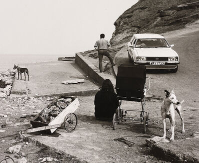 Chris Killip, 'Crabs and People, Skinningrove, North Yorkshire', 1981