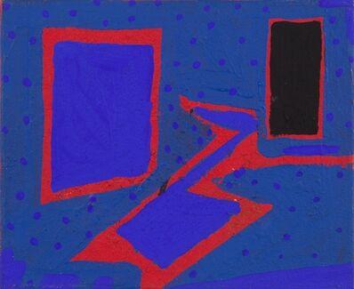 Cesare Berlingeri, 'La stanza blu', 1988
