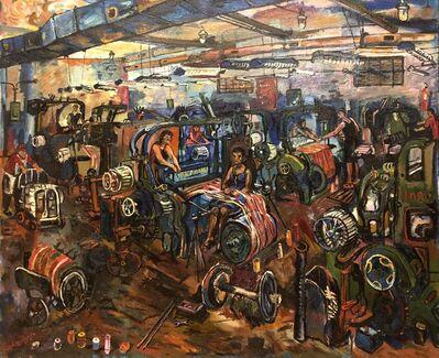 Jemal Kukhalashvili, 'Factory', 1980