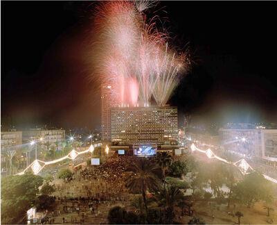 Asaf Kliger, 'Independence Day,6.30 minutes exposure, Tel Aviv, Israel', 2009