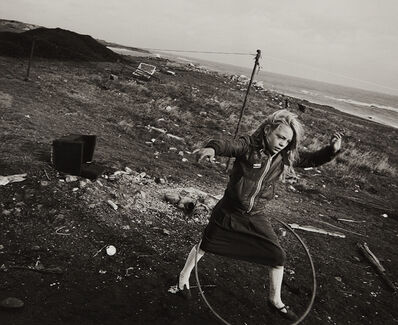 Chris Killip, 'Girl with Hoop', 1989