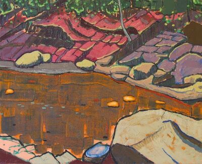 Aaron Brooks, 'Red Clay Riverbed', 2011