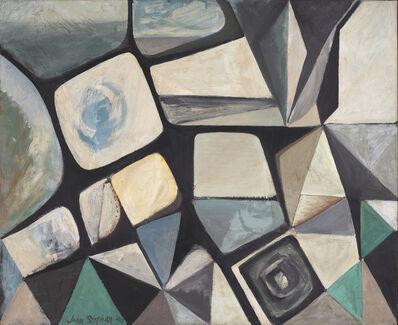 John Stephan, 'The Pyramid Confronts the Sea', 1949