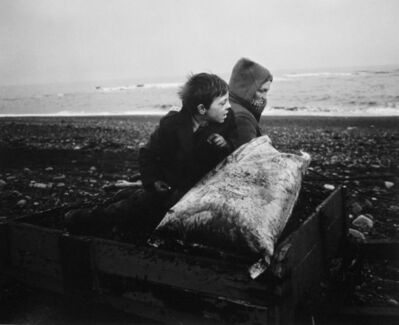 Chris Killip, 'Rocker and Rosie Going Home, Seacoal Beach, Lynemouth, Northumberland', 1984